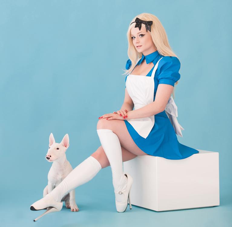 PVC Alice in Wonderland Costume