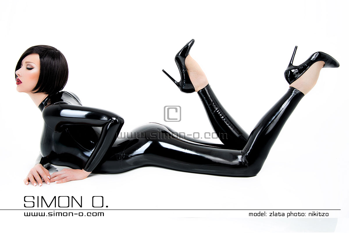 Latex Catsuit with express production