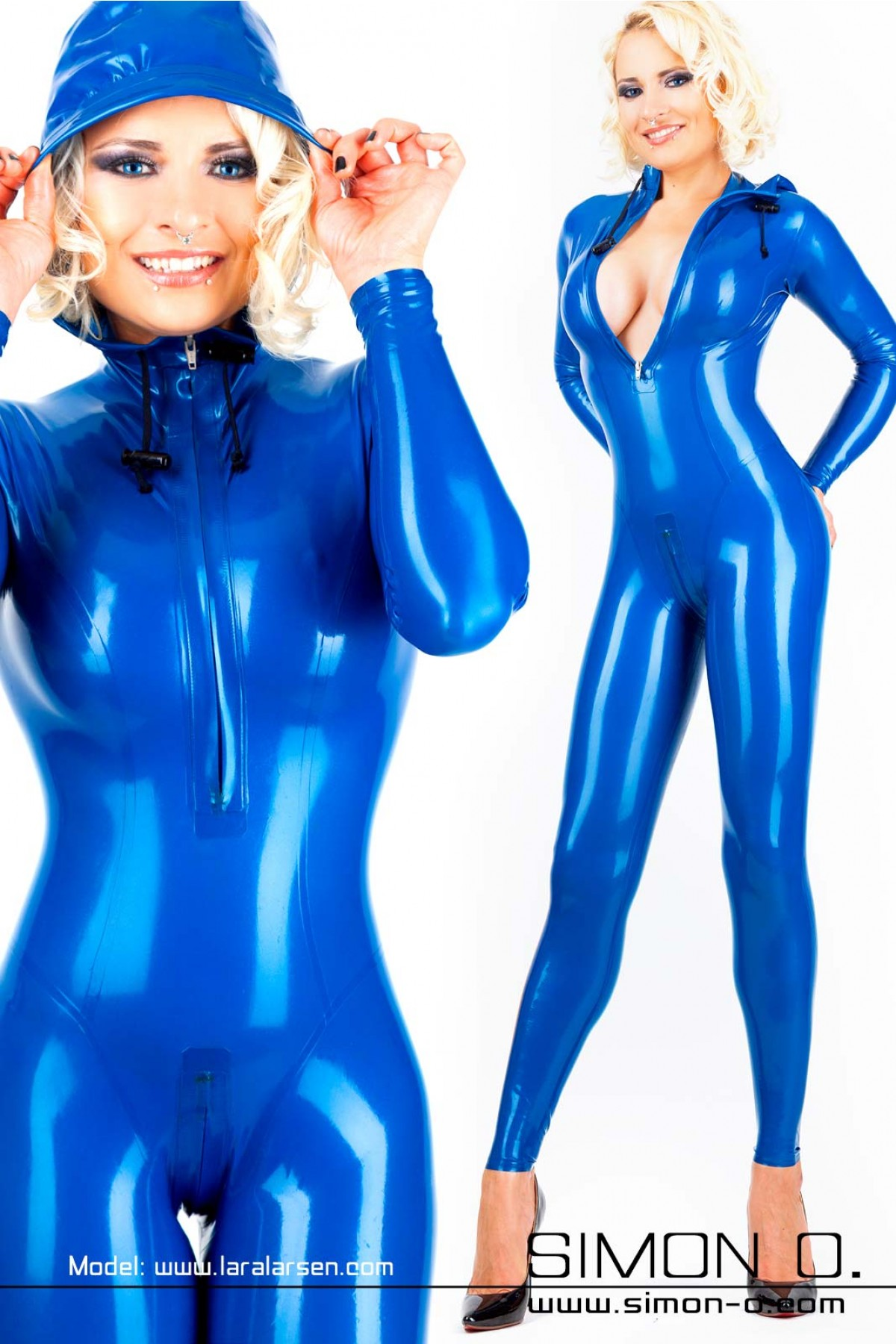 Wearing Latex Catsuit 72